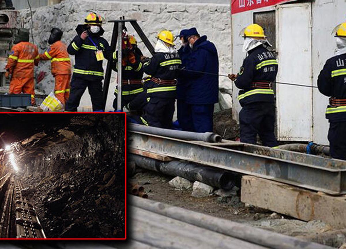 Maden faciasında mahsur kalan işçiler 15 gün daha kurtarılmayı bekleyecek