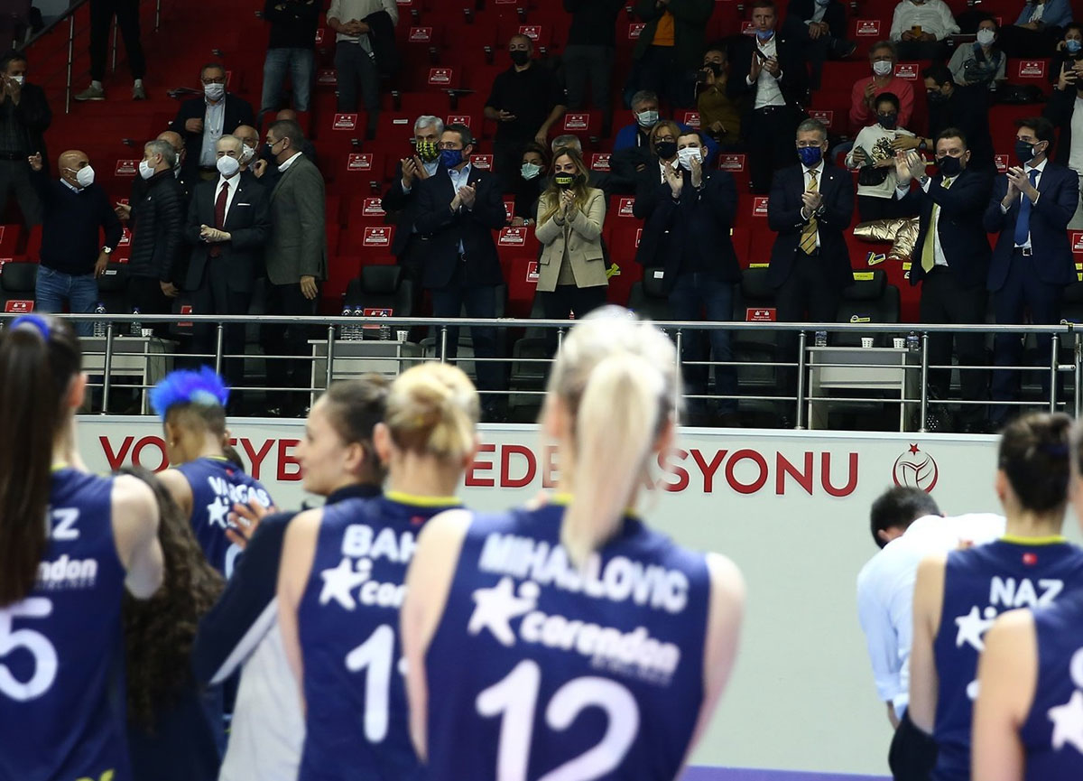 Galatasaray HDI Sigorta 0-3 Fenerbahçe Opet