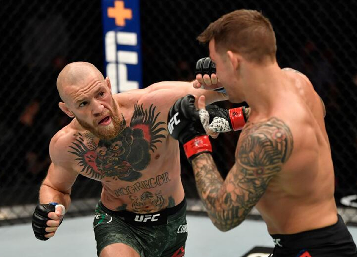 UFC'de Conor McGregor - Dustin Poirier maçını kim kazandı? İşte heyecan dolu maçın galibi...