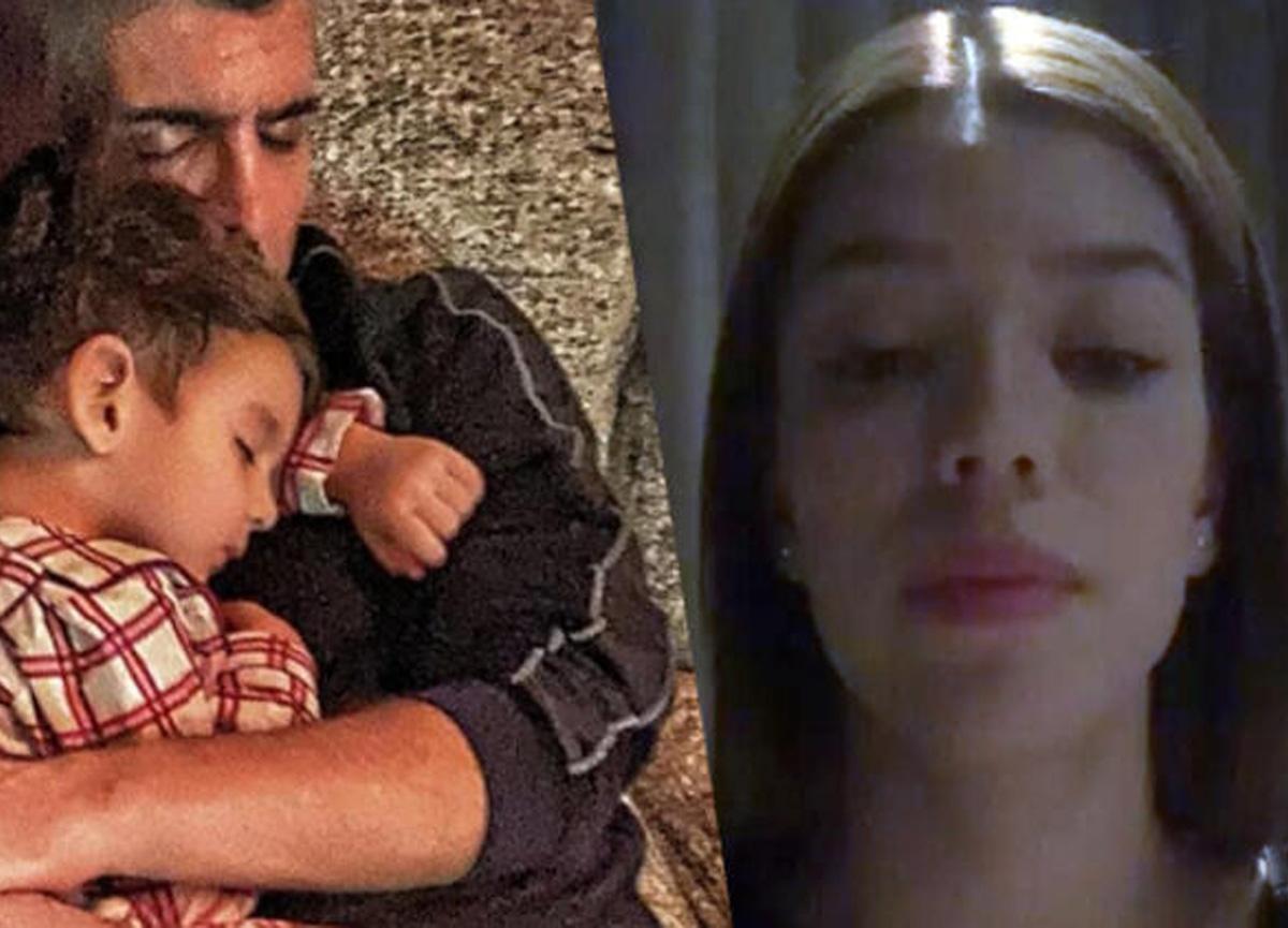 Özcan Deniz, oğlu Kuzey'e sarıldığı fotoğrafı sosyal medya hesabından paylaştı!
