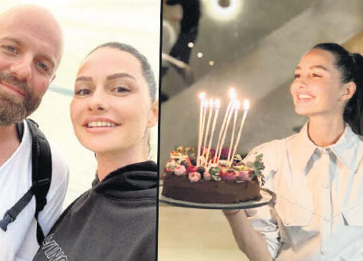 Yasemin Özilhan, yeni yaşını ailesiyle birlikte kutladı