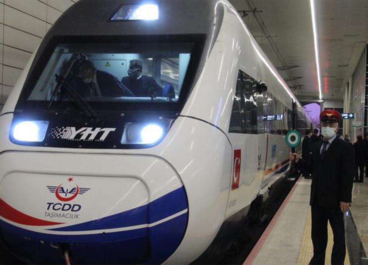 12 saatlik yolculuk 2 saate düşüyor! Ankara-Sivas YHT testleri başladı