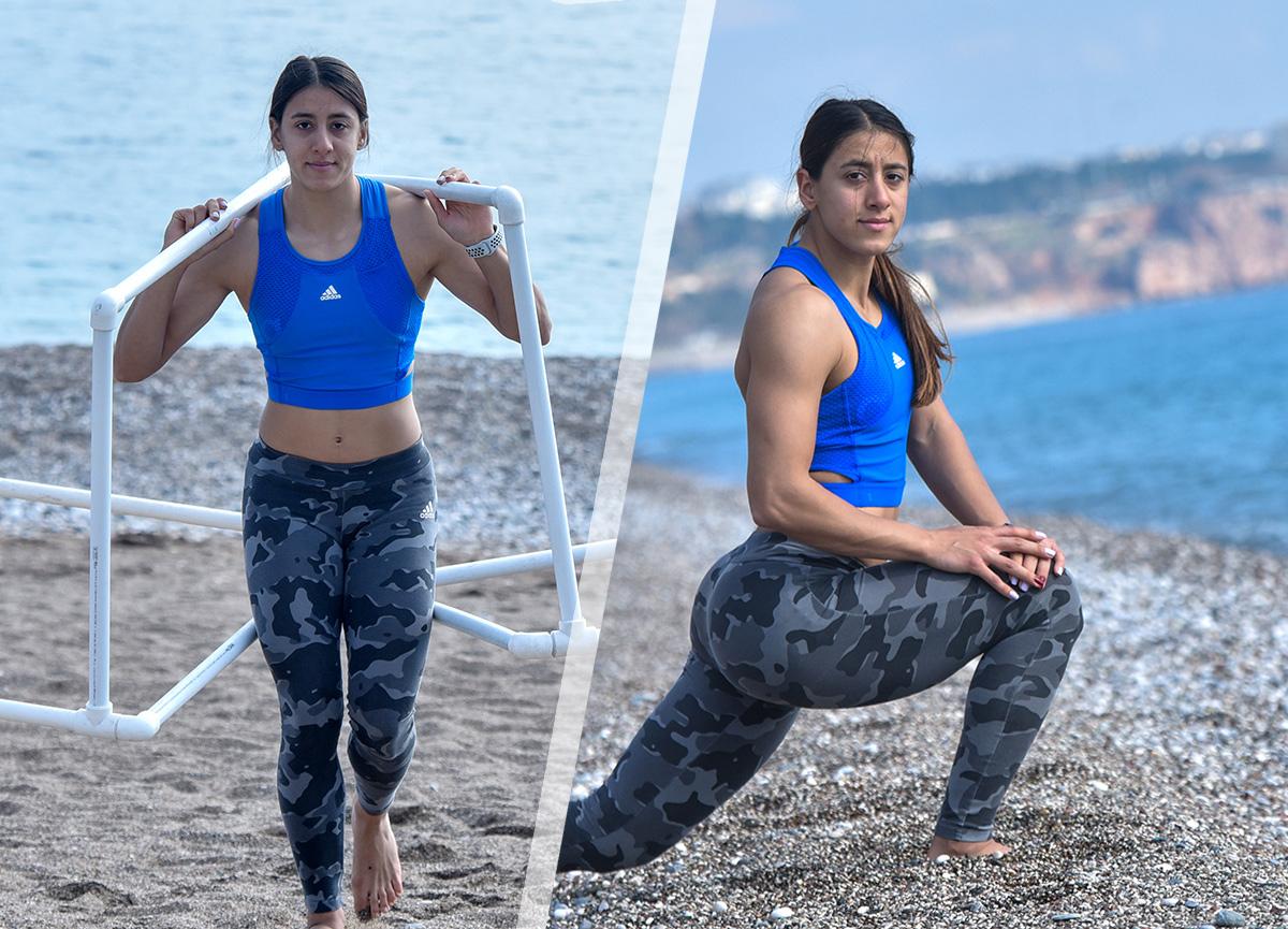 Dünya şampiyonluğu ve 43 Türkiye rekoru bulunan milli atlet Mizgin Ay, olimpiyata böyle hazırlanıyor