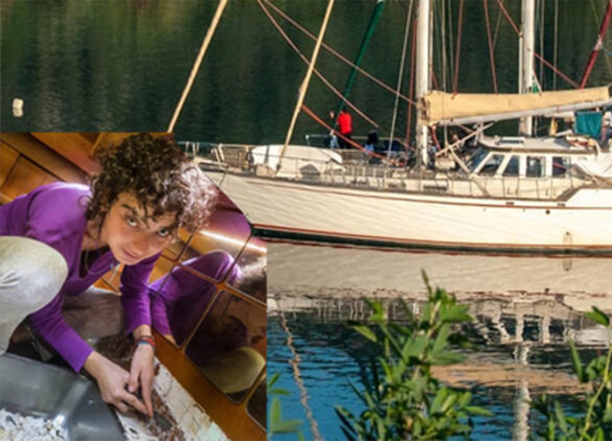 Ailesiyle deniz üstünde yaşayan Yeşim Büber: Teknede yaşam bazen zor