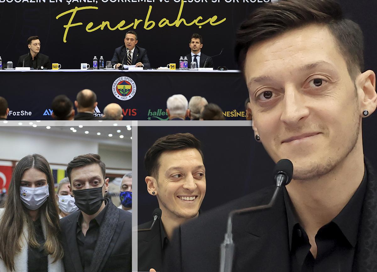 Fenerbahçe'de tarihi gün: Mesut Özil imzayı attı... İşte açıklamaları
