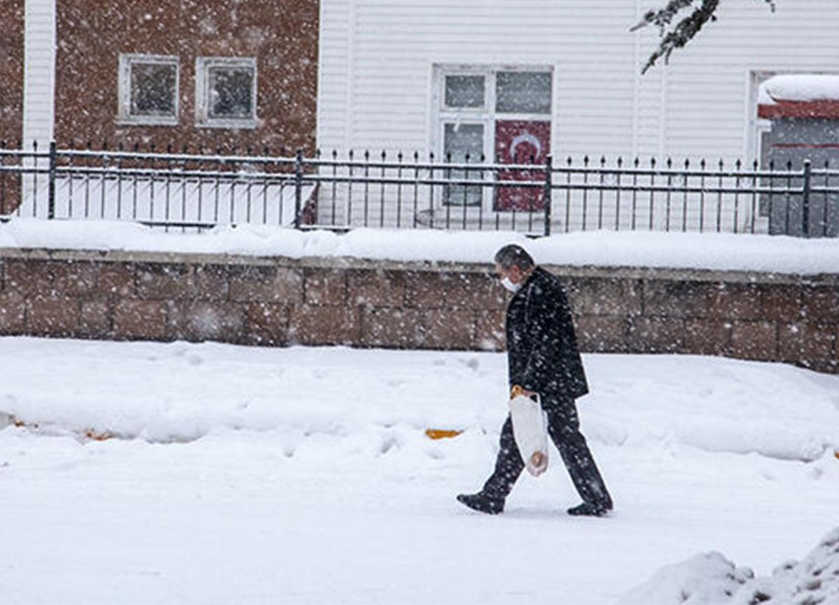 Dikkat! Meteoroloji'den yoğun kar uyarısı geldi