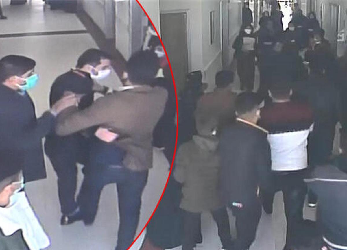 Şanlıurfa'da 20 hasta yakını güvenlik görevlisini dövdü