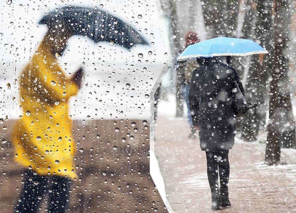 Artvin hariç tüm Türkiye'de yağış var! Meteoroloji uyardı...