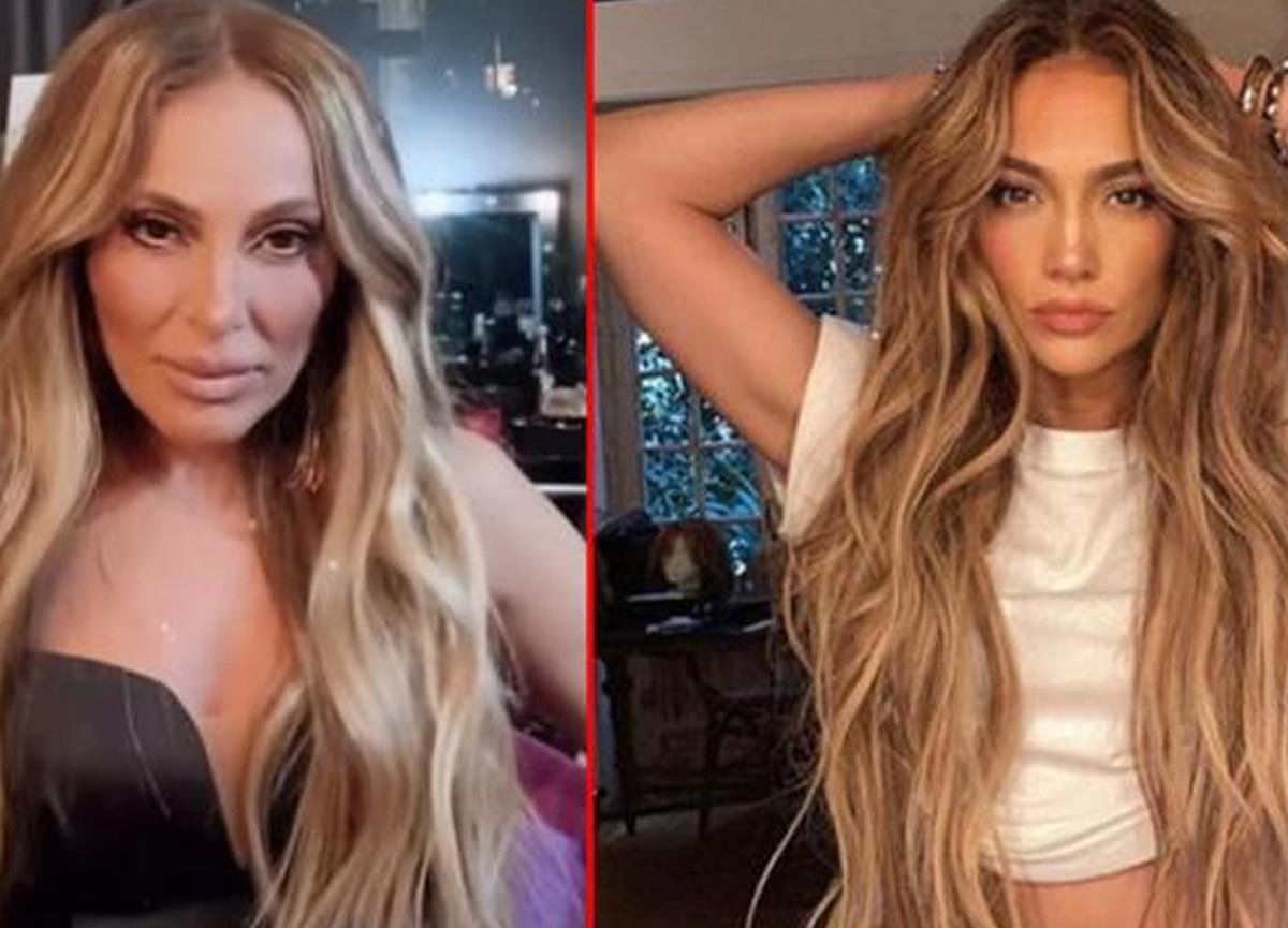 Ziynet Sali son paylaşımıyla Jennifer Lopez'e benzetildi