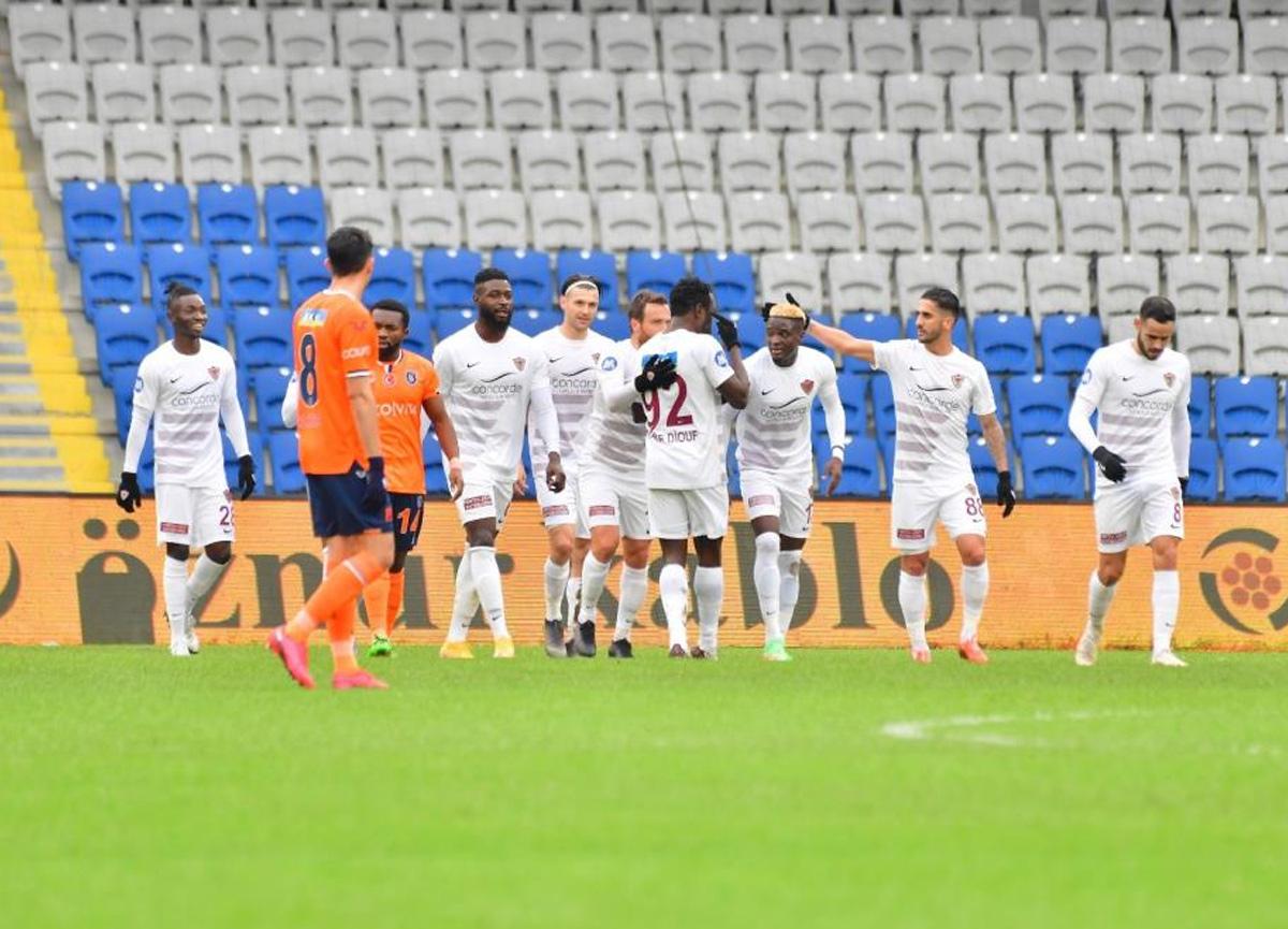 Başakşehir bu sezon ilk kez 45 dakikada 3 gol yedi