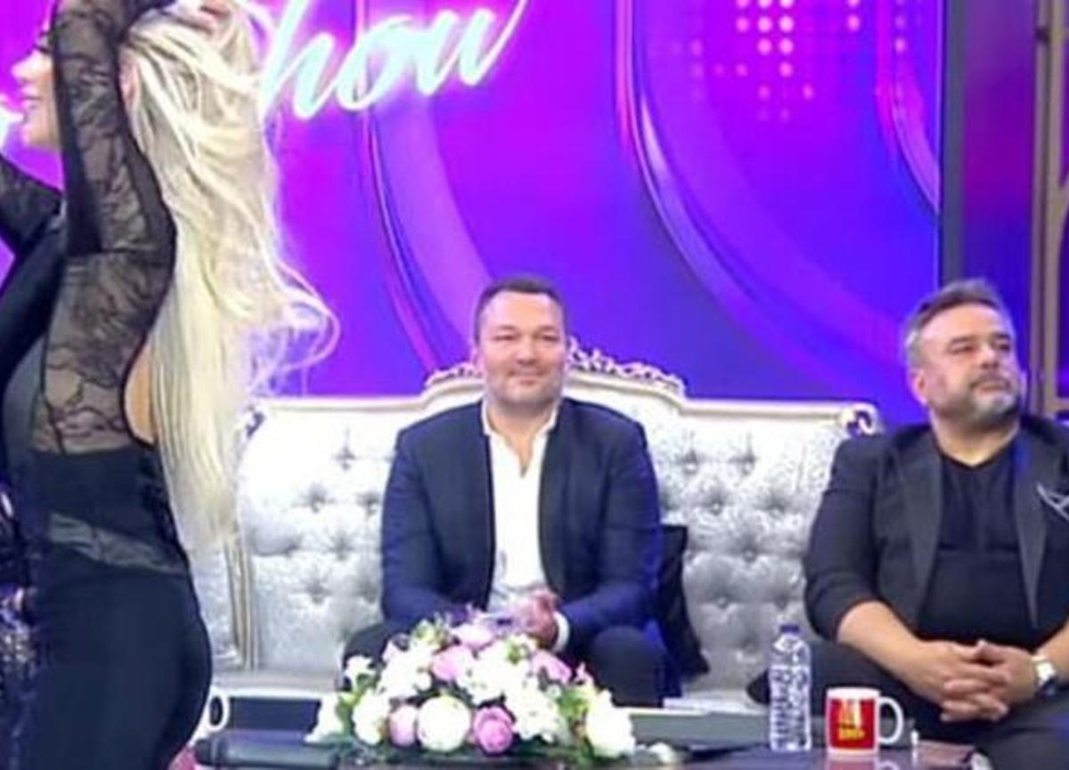 İbo Show'da Oryantal Didem Kınalı'nın dans ettiği anlar dikkat çekti