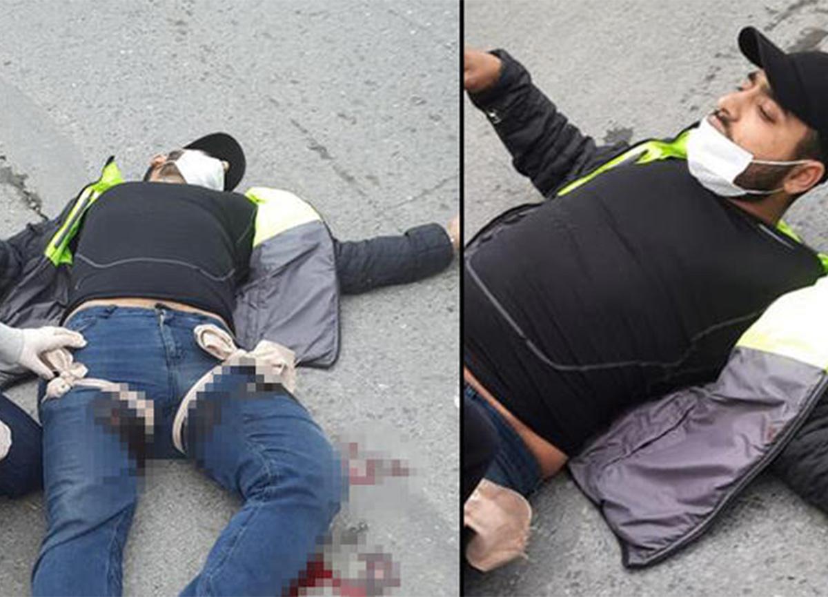 Kağıthane'de silahlı dehşet! İki kişinin saldırısına uğradı