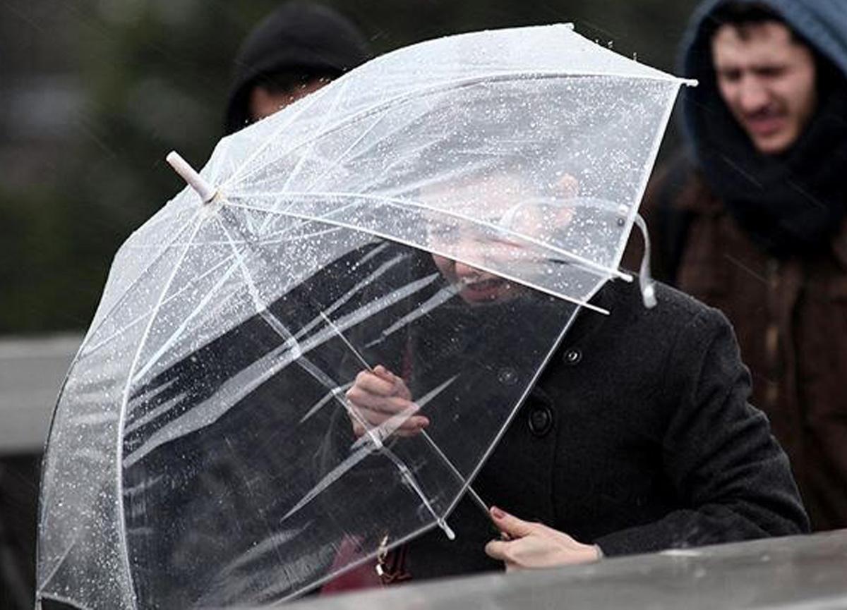 Meteoroloji bazı iller için sağanak yağış ve fırtına uyarısında bulundu