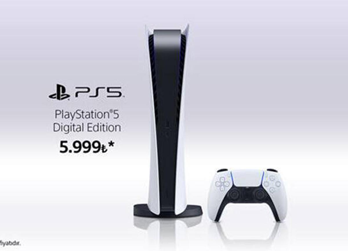 PlayStation 5 Digital Edition satışa çıkıyor! PlayStation 5 Dijital Sürümü kaç para?