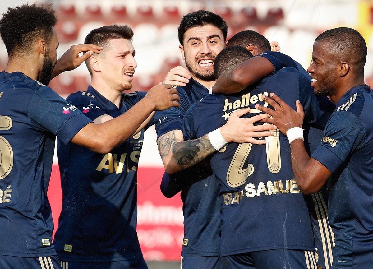 Fenerbahçe deplasmanda Hatayspor'u 2-1 mağlup etti