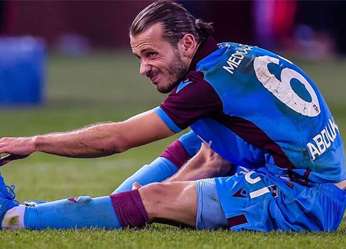 Trabzonspor'da sakatlık şoku! Abdülkadir Parmak, sahalardan 10 gün uzak kalacak