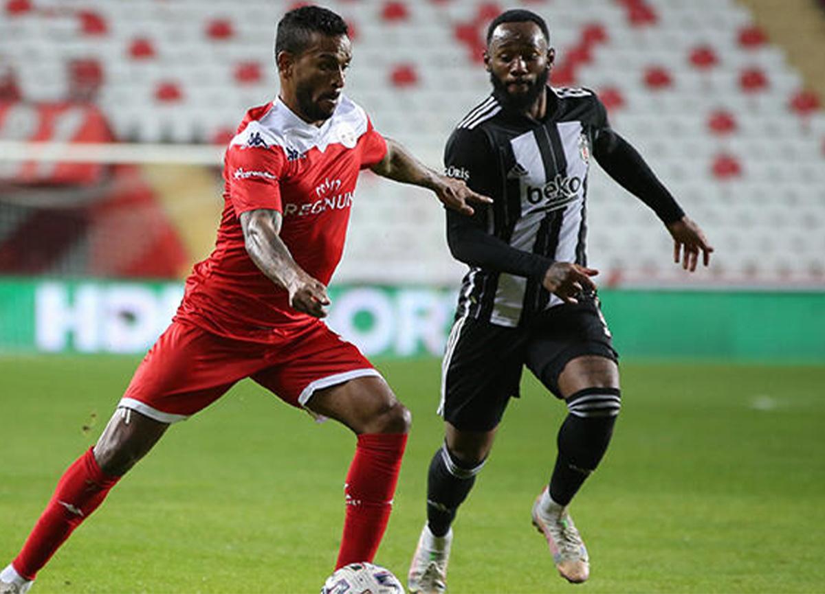 Beşiktaş, Antalyaspor ile 1-1 berabere kaldı