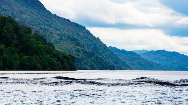 Loch Ness Gölü Canavarı yeniden ortaya çıktı! Görenler şaşkın ve tedirgin