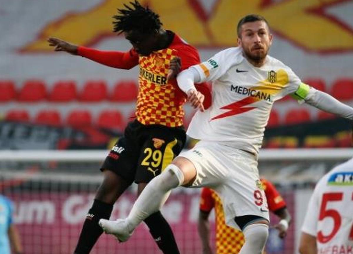 Göztepe ile Malatyaspor 2-2 berabere kalarak puanları paylaştı