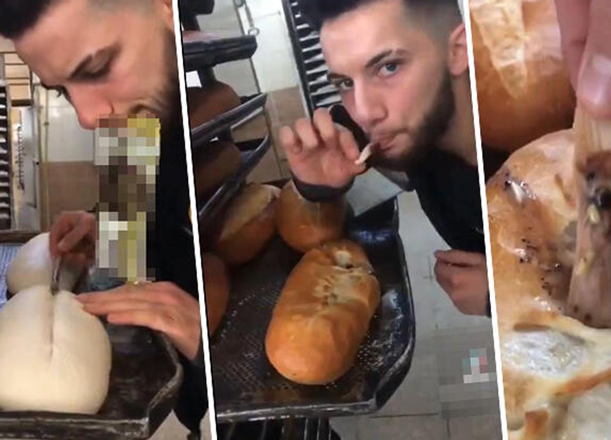 Sosyal medyada tepki çeken görüntü! Mersin'de fırında skandal!