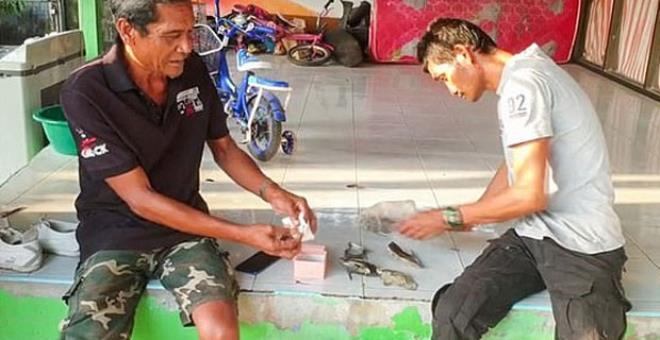 Balığa çıkan yoksul aile, ağlarına takılan deniz kabuğu sayesinde milyoner oldu