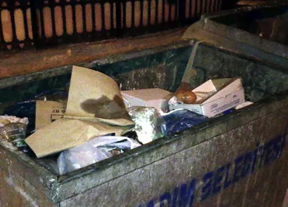 Samsun'da çöpte 1 haftalık kız bebek bulundu