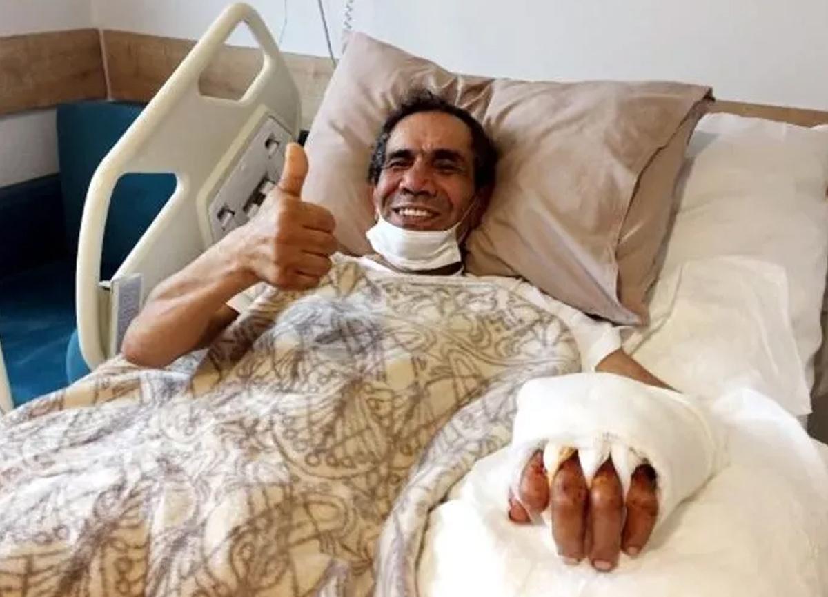 Antalya'da şaşırtan olay: Kopan elini poşete koyup hastaneye gitti