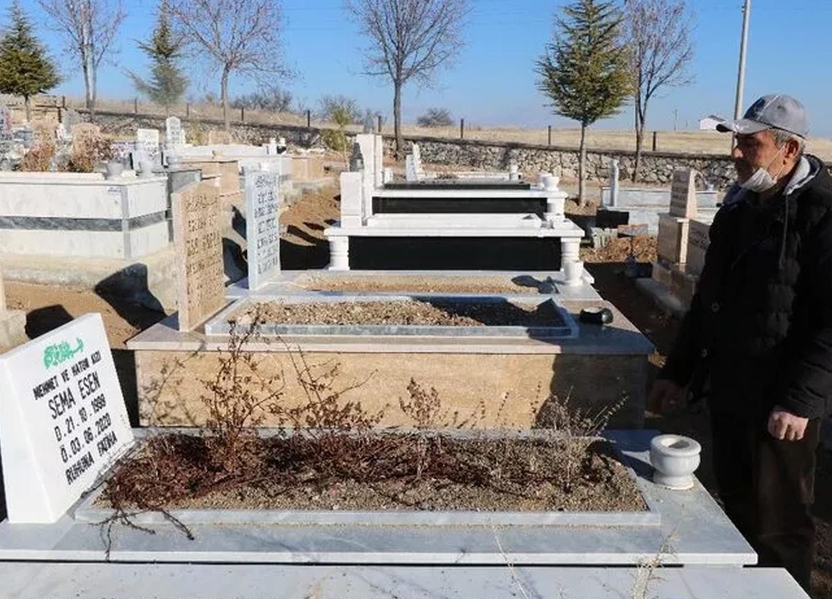 Beklenen açıklama dün yapılmıştı! Aleyna Çakır'ın babası kızının mezarına gidip müjdeyi verdi