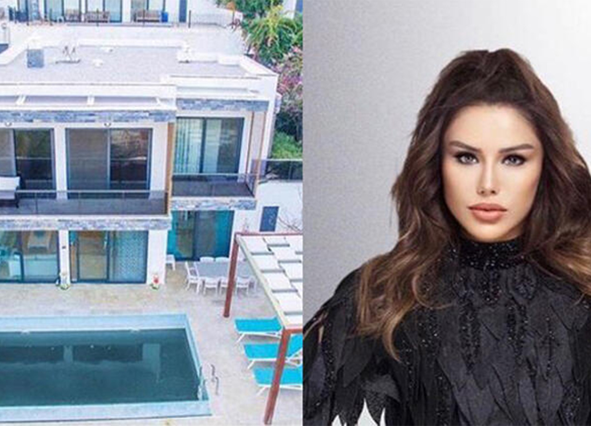 Ceylan, Bodrum'daki lüks villasını satışa çıkardı