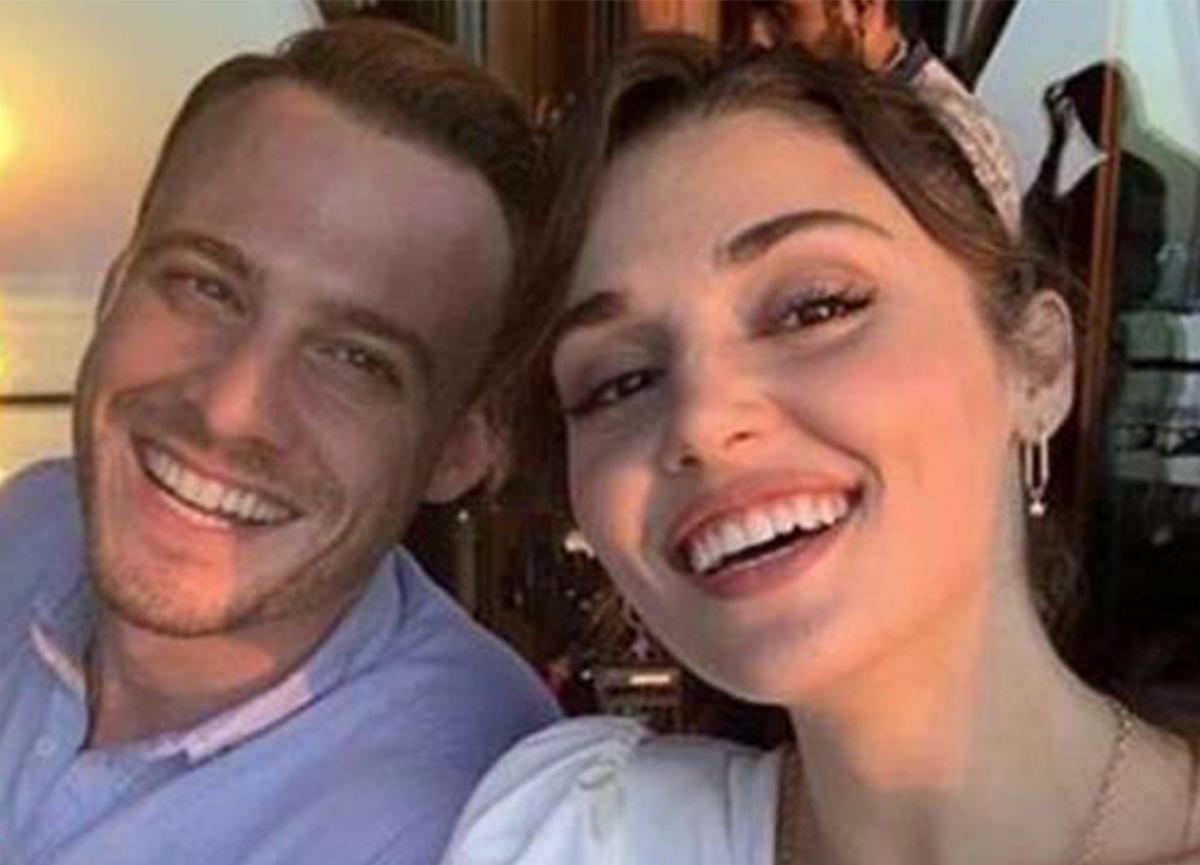 Hande Erçel ve Kerem Bürsin'in arasına kara kedi girdi