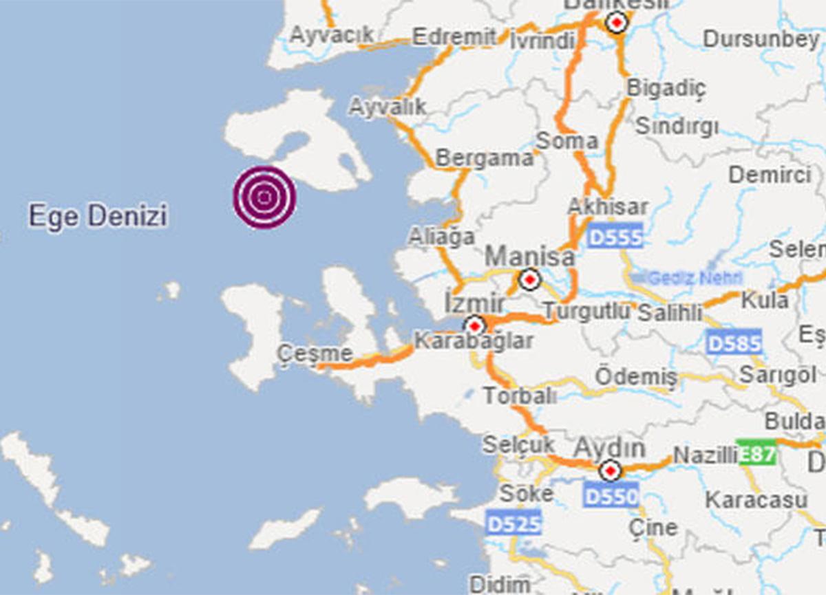 Son dakika: İzmir'de deprem oldu
