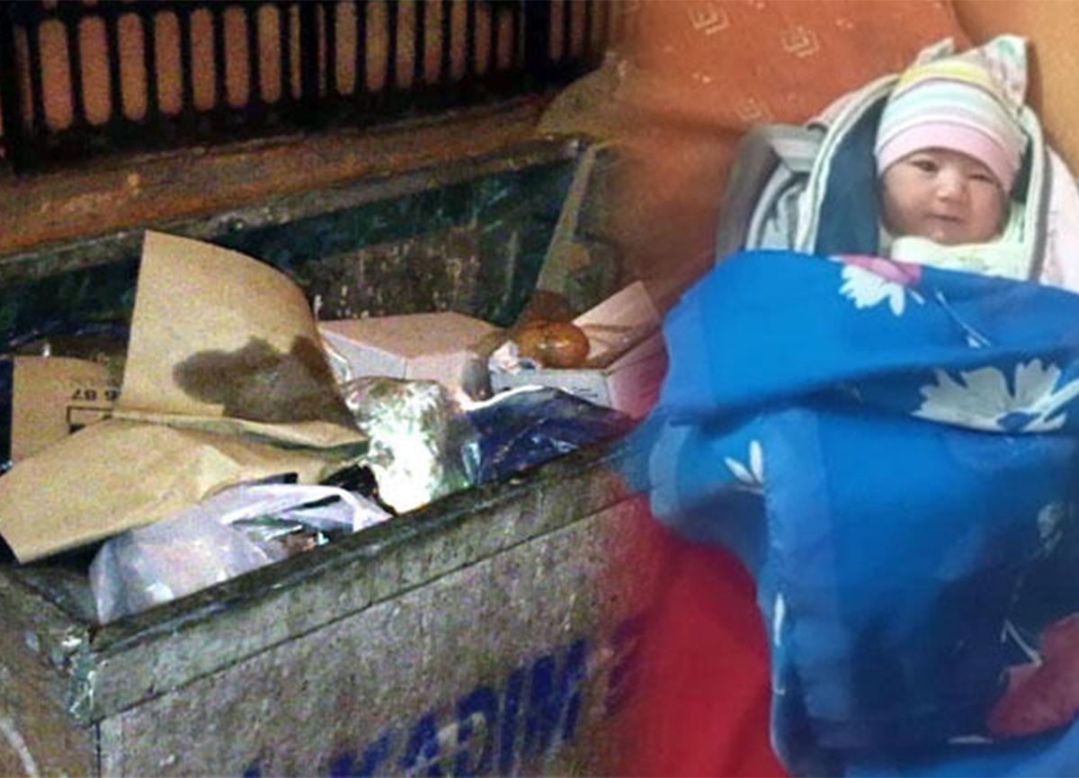 Samsun'da akılalmaz olay! Bebeği çöpe bırakıp kaçtılar