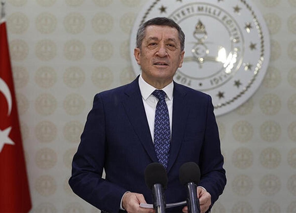 Milli Eğitim Bakanı Ziya Selçuk'tan yüz yüze eğitim ve uzaktan eğitim açıklaması