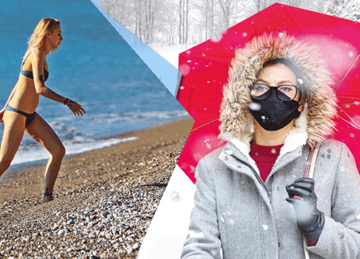 Hafta sonu kış geliyor! Sıcaklıklar 20 derece birden düşecek