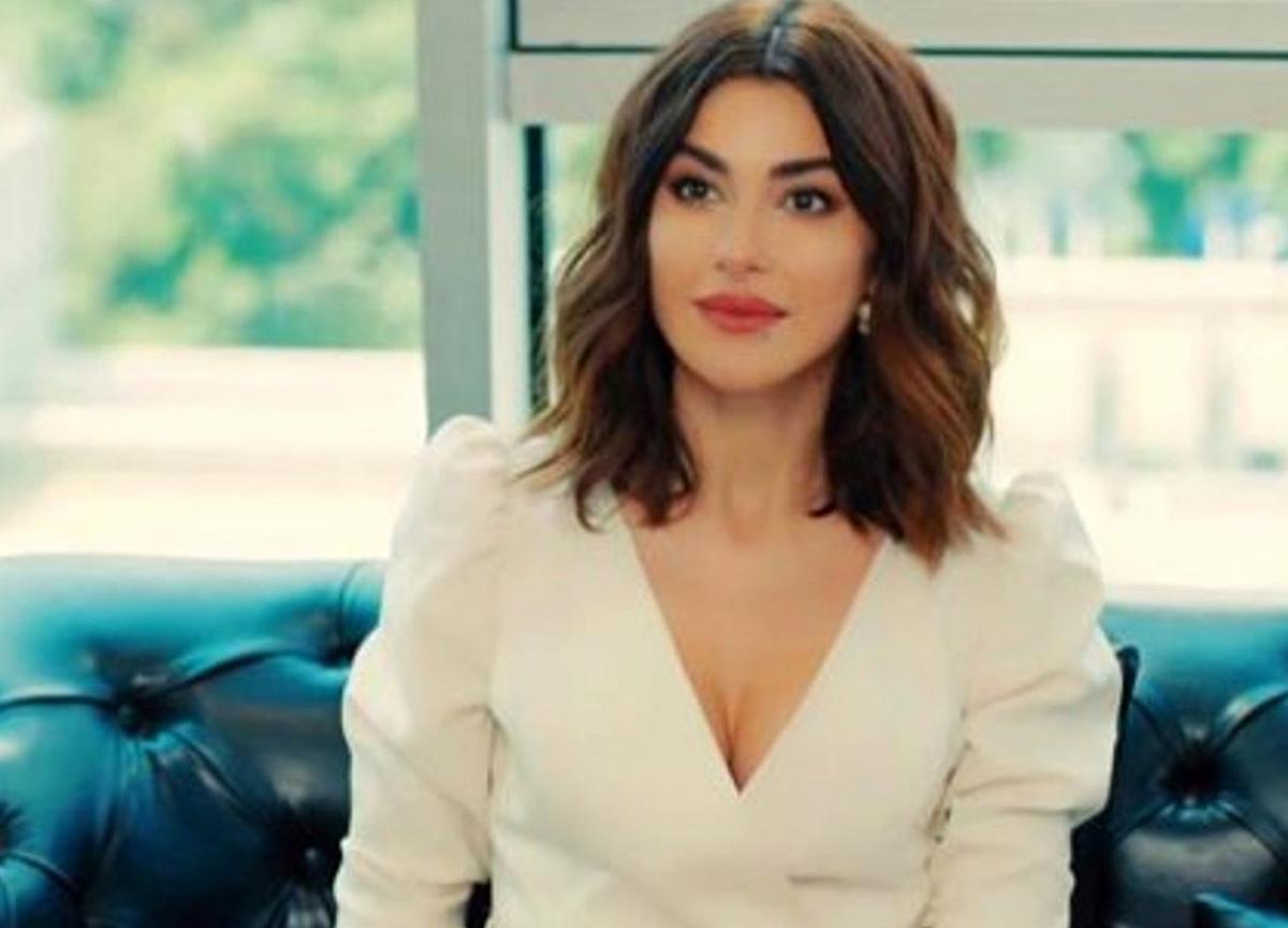 Oyuncu Nesrin Cavadzade evlilik sorularına yanıt vermedi
