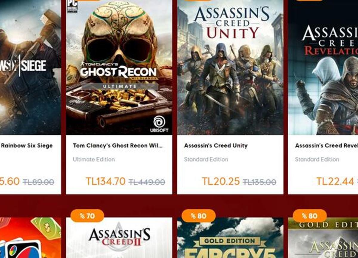 Ubisoft yeni ay indirimleri başladı! Ubisoft yeni ay indirimi olan oyunlar neler?