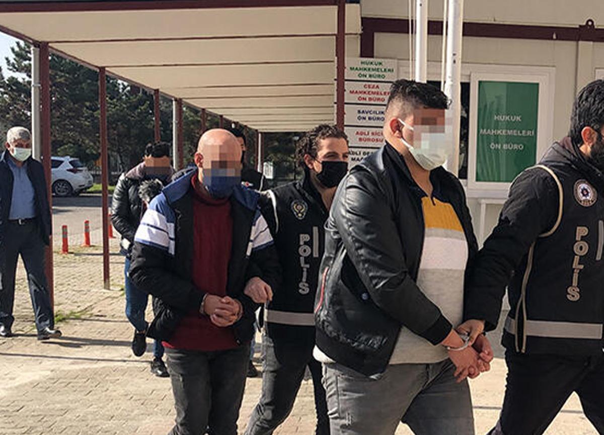 Sahte oturma izni düzenleyen 3 kişi Yalova'da yakalandı