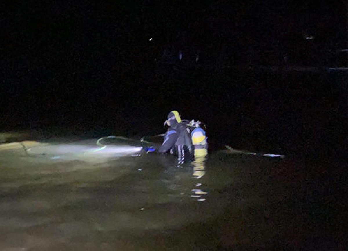 Samsun'da feci kaza! Direksiyon hakimiyetini kaybeden sürücü baraj gölüne düştü