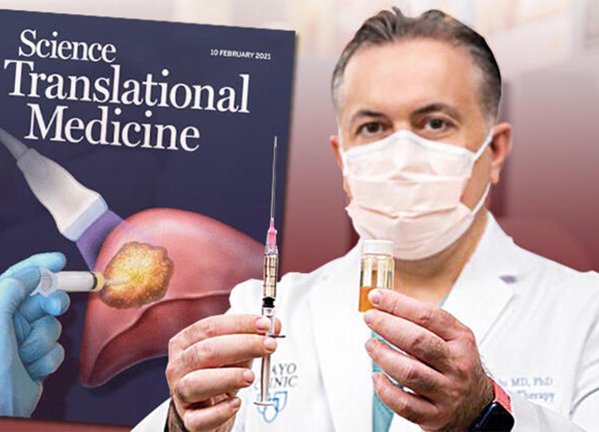 Türk doktor, kanserli dokuyu yok eden yeni bir sıvı geliştirdi