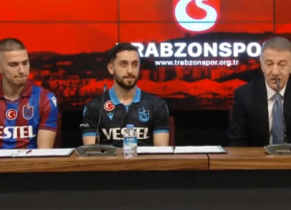 Trabzonspor'da 3 imza birden! Tören düzenlendi