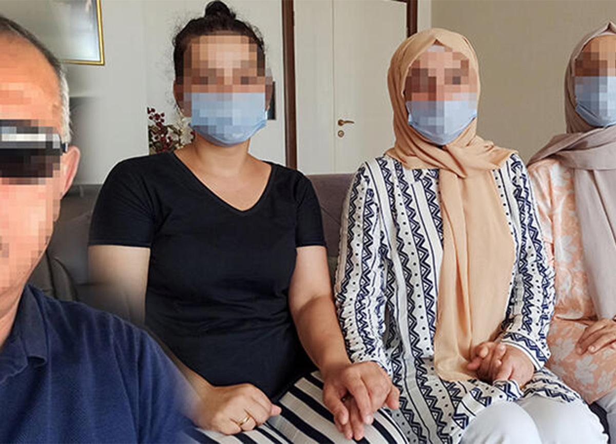 3 kız kardeş, öz babaları tarafından cinsel istismara uğradıklarını iddia etti!