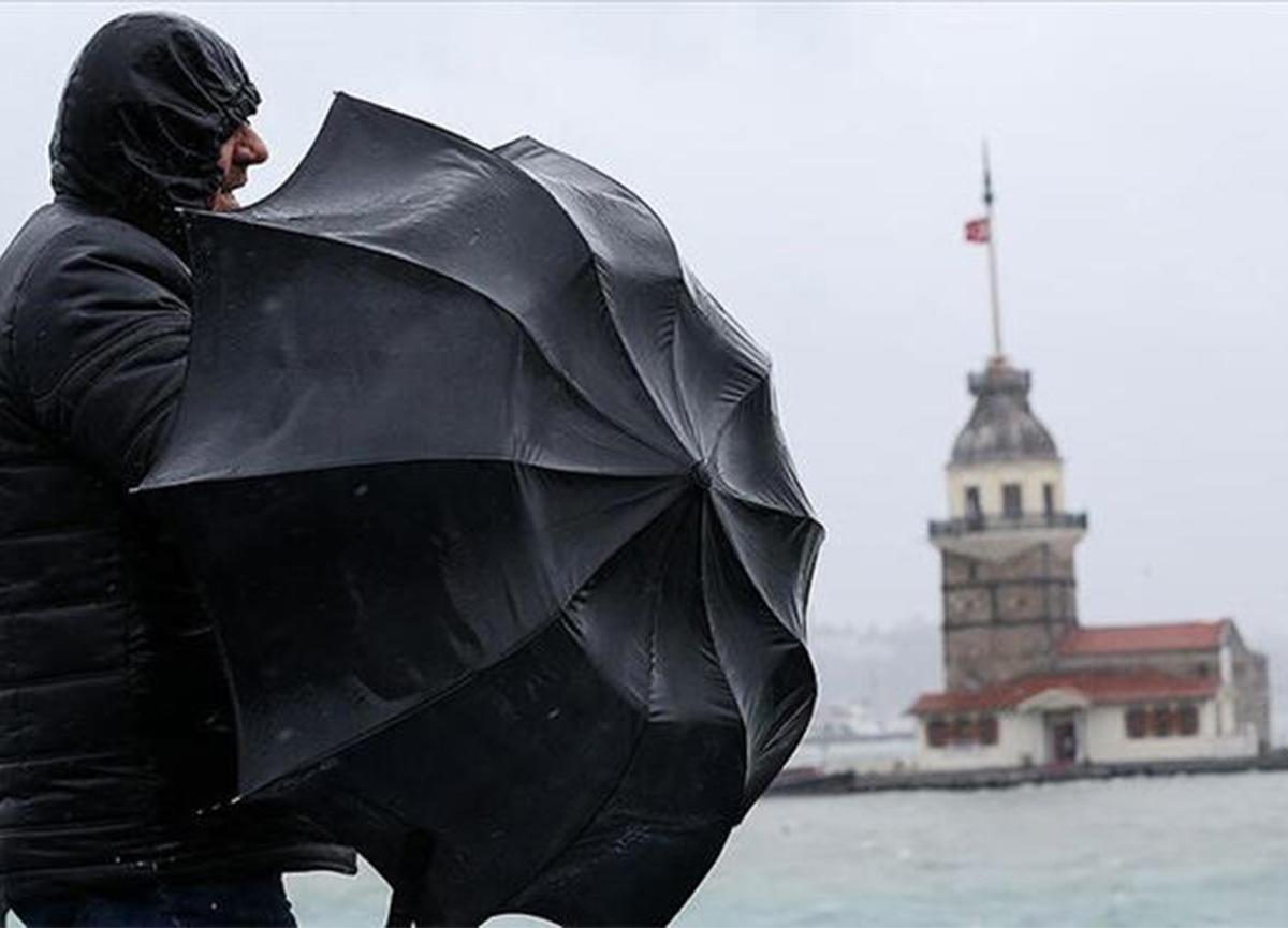 Meteoroloji'den son dakika uyarısı: Marmara'da fırtına bekleniyor