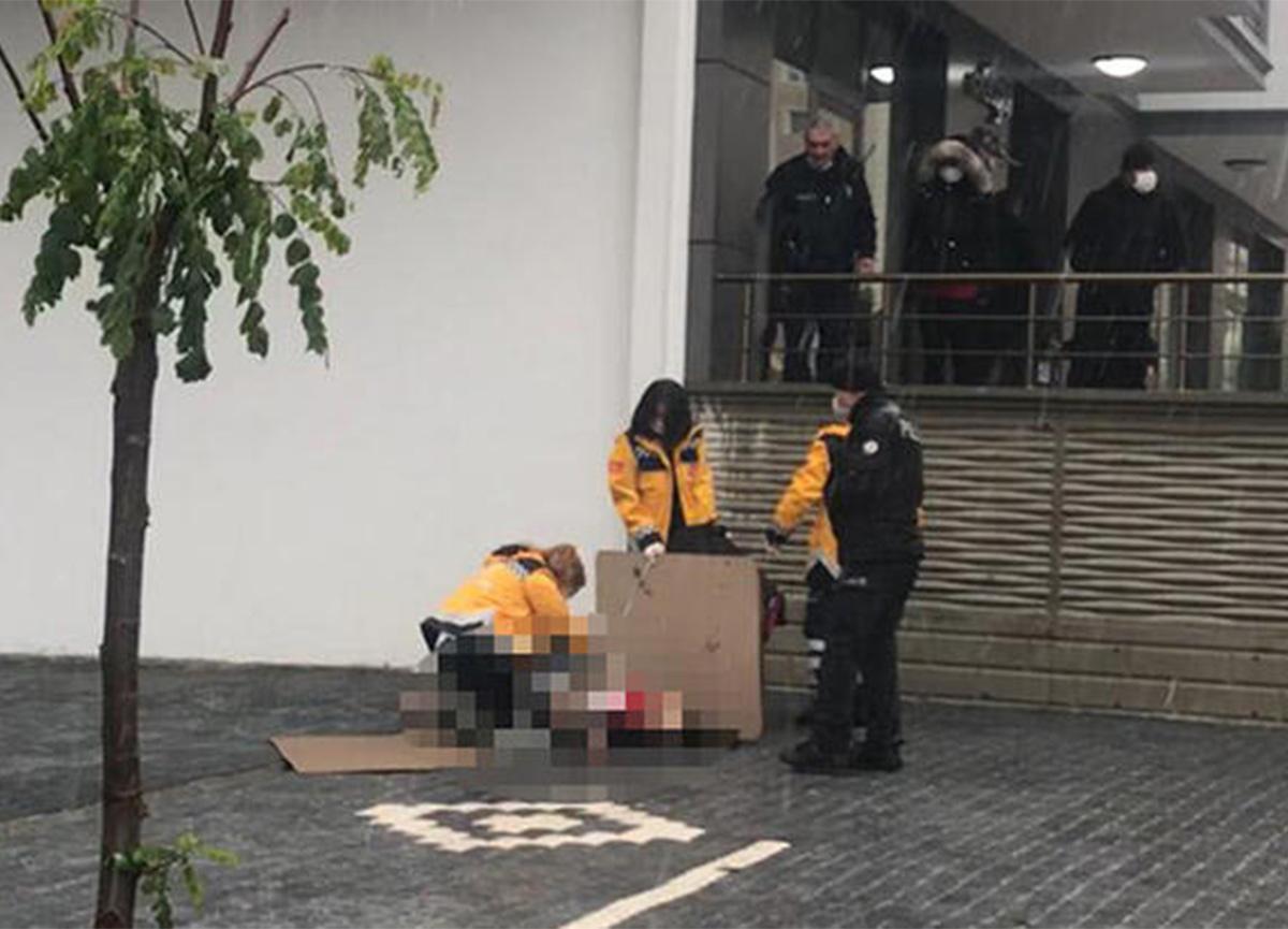 Samsun'da 6'ncı kattan düşen kadının feci sonu
