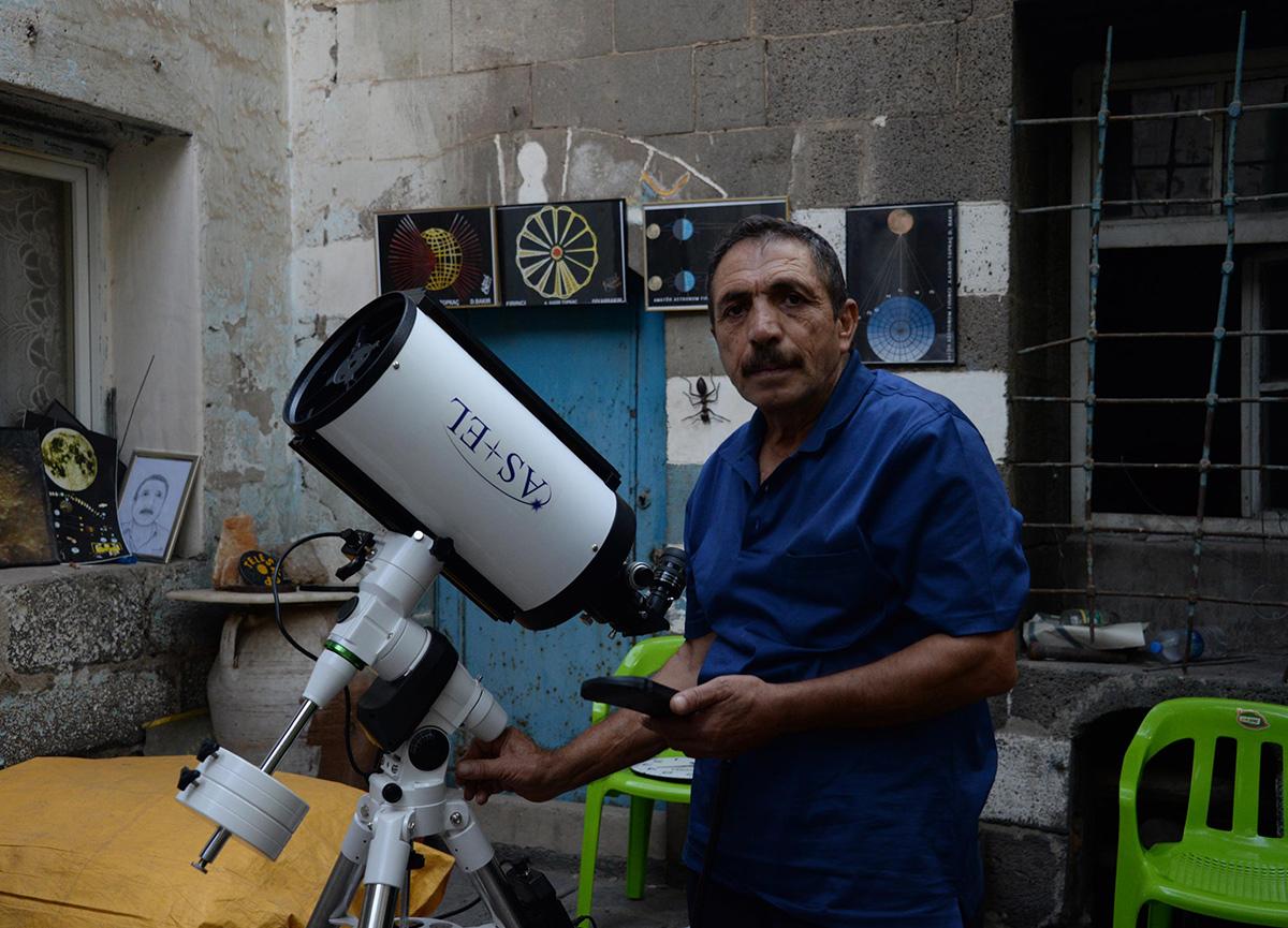 Youtube'daki videoyla tanınmıştı: Diyarbakılı amatör astronom Abdulkadir Topkaç hayatını kaybetti