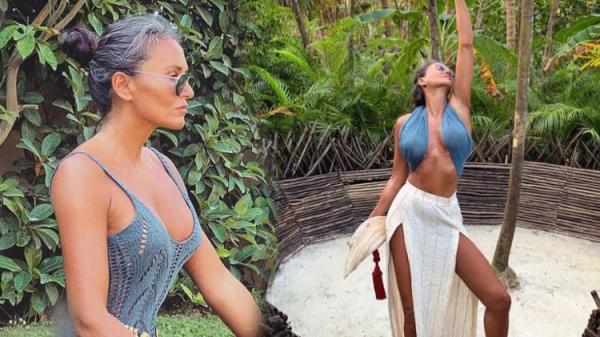 Eda Taşpınar'ın iddialı tatil fotoğrafına beğeni yağdı!