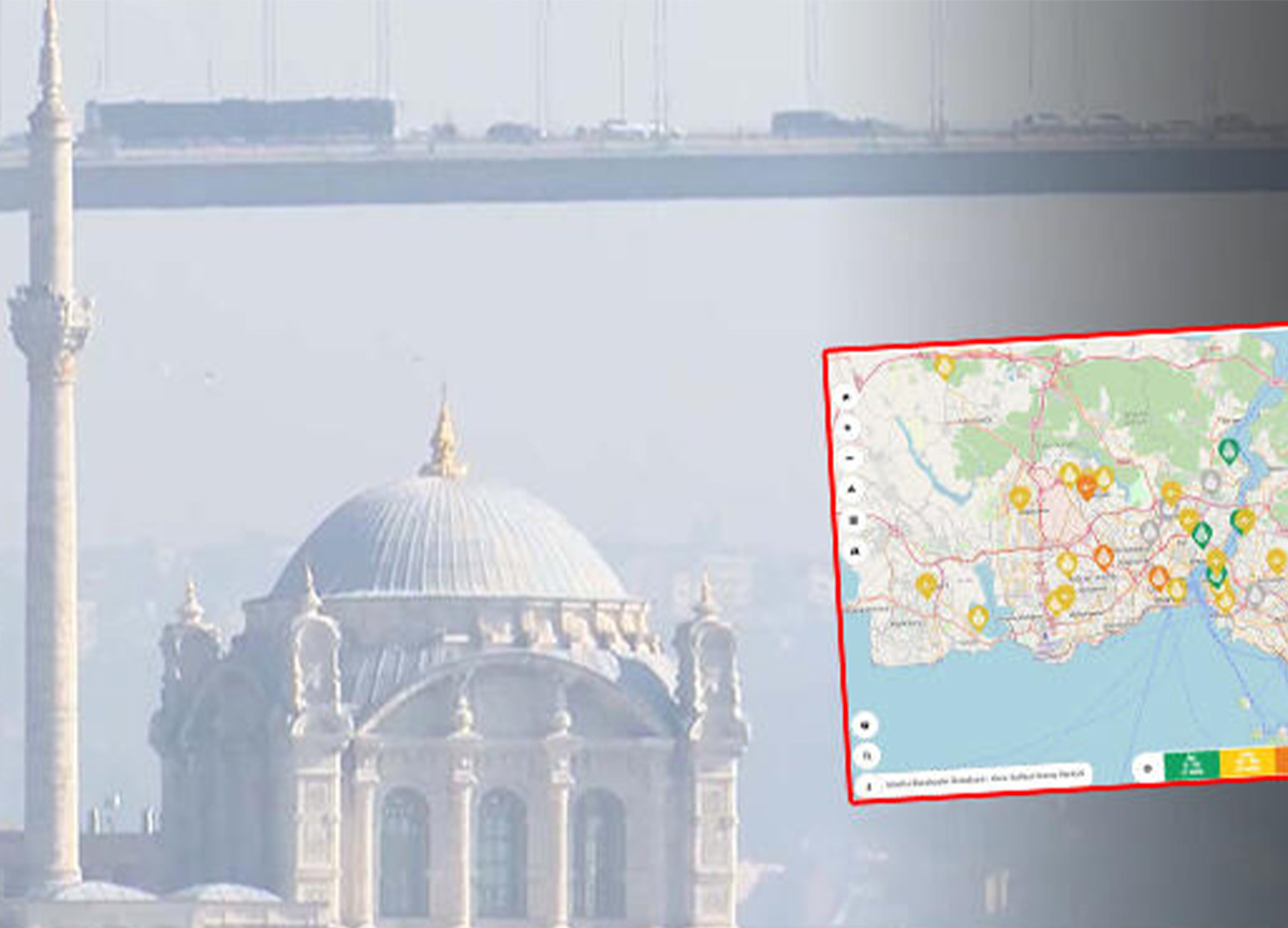 İstanbul'da hava kirliliği kritik seviyeye ulaştı