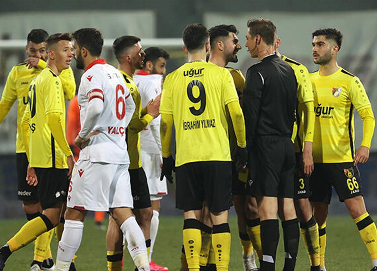 Tahkim'den İstanbulspor-Samsunspor maçı kararı