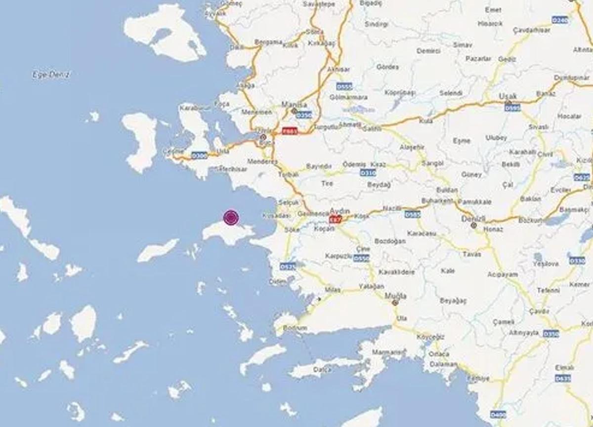 Son dakika: İzmir Seferihisar açıklarında 3.5 büyüklüğünde deprem meydana geldi
