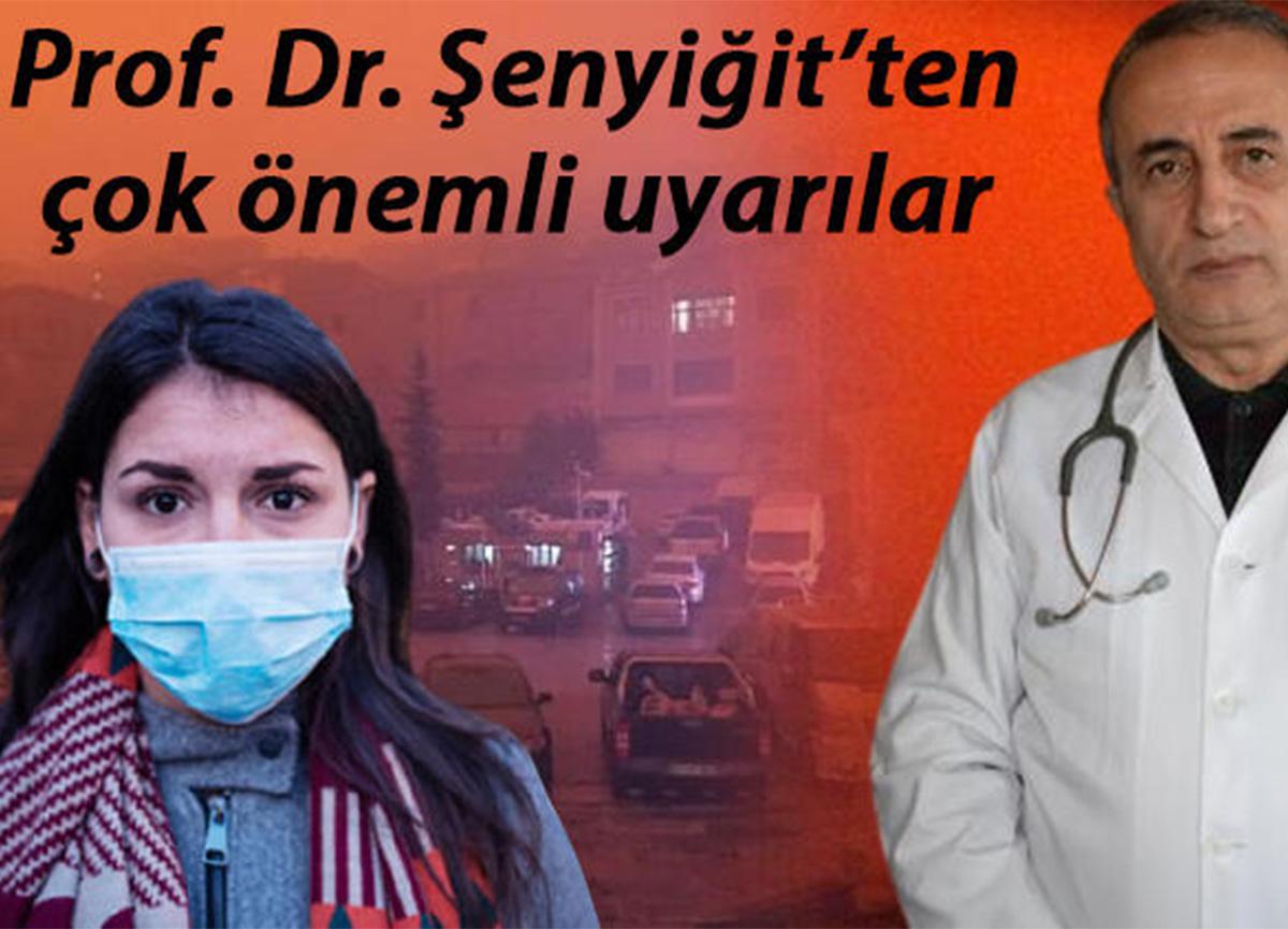Prof. Dr. Şenyiğit uyardı: 'Çöl tozları geliyor! Kapı-pencereleri kapatın'