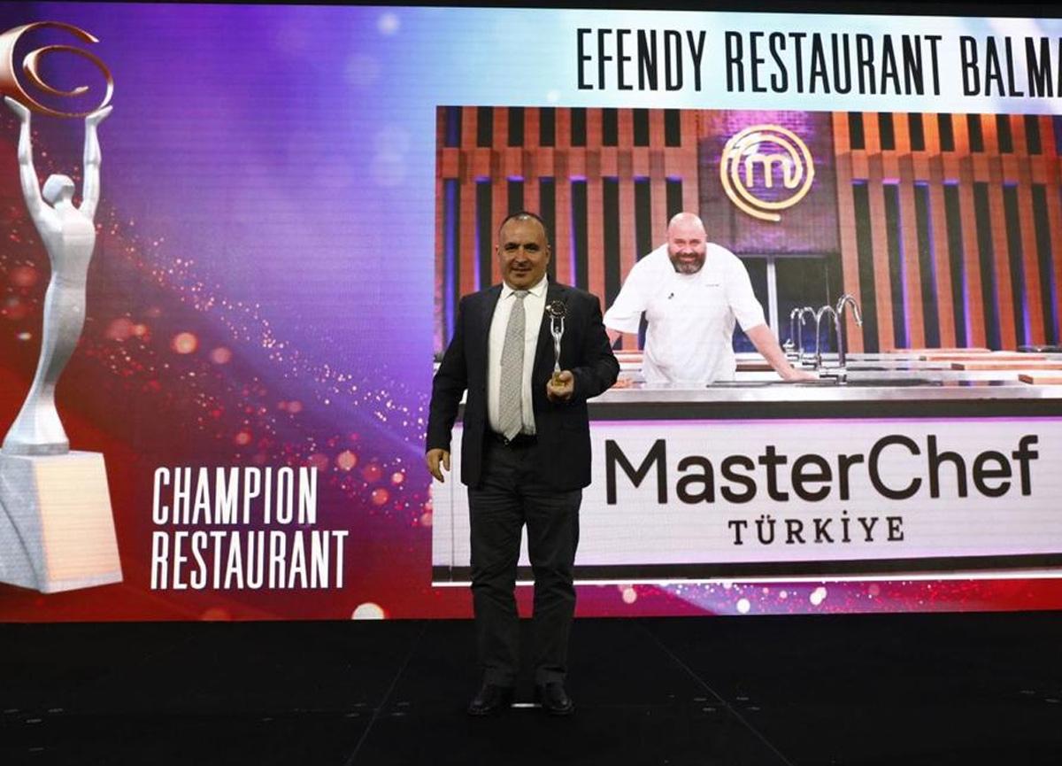 MasterChef jürisi Şef Somer Sivrioğlu'nun restoranına büyük ödül